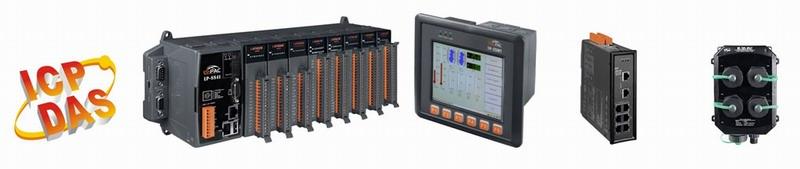 Промышленные контроллеры и коммуникационное оборудование ICP DAS Co. LTD