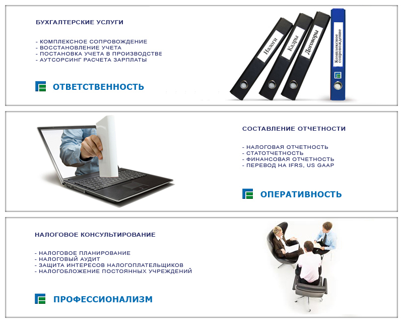 Услуги бухгалтерского обслуживания фирмы вакансии бухгалтера в больницах москвы
